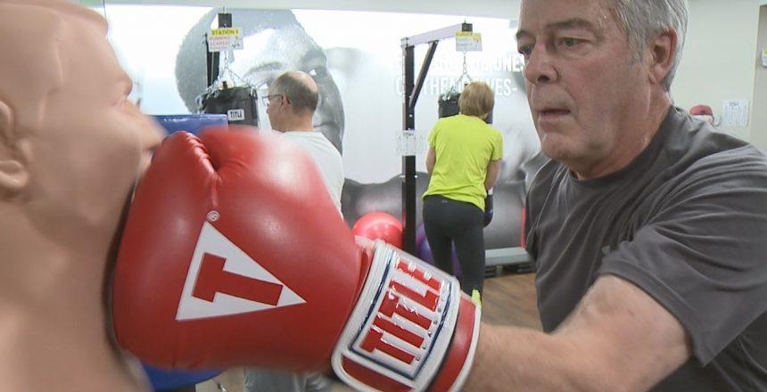 Patients with Parkinson's Disease are Using Boxing Gloves to Fight Back